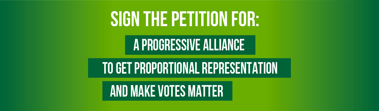 Sign the petition for a progressive alliance